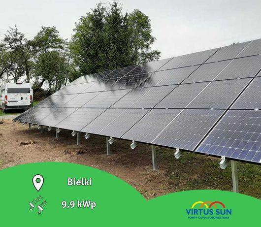 Panele fotowoltaiczne + montaż | instalacja PV | 10 kWp | Fotowoltaika