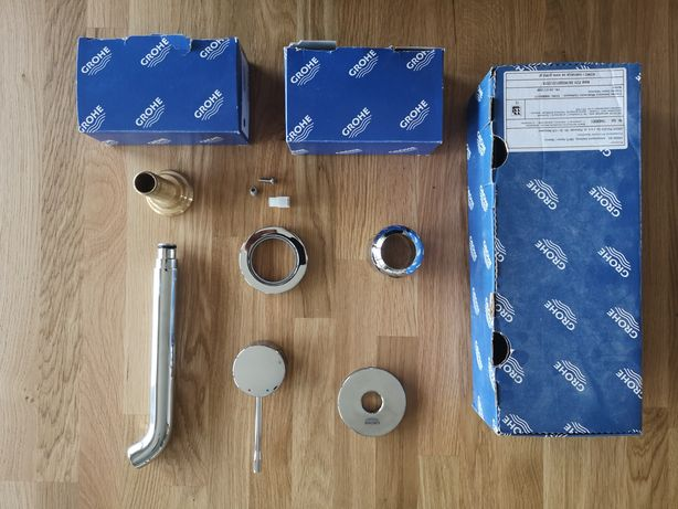 Bateria umywalkowa 2-otworowa podtynkowa Grohe Essence New