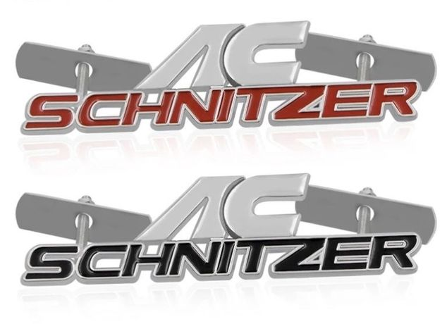 Шильдик на решетку радиатора Ac schnitzer E34 E36 E38 E39 E46 E60 E90