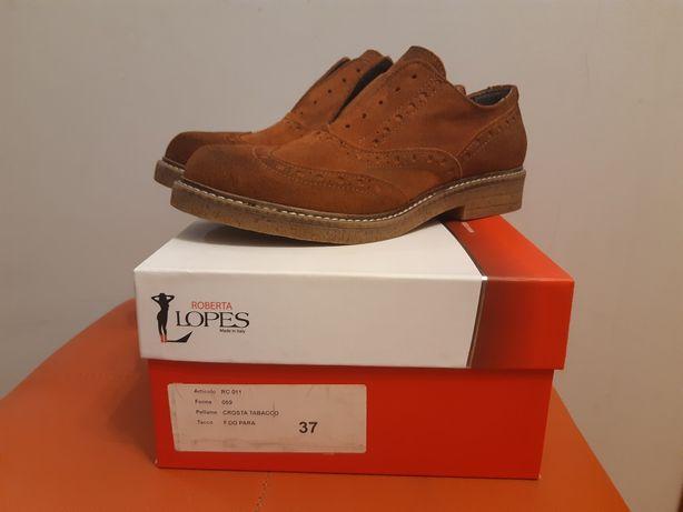 Итальянские туфли Roberta Lopes Новые!размер 37(24,5 см)