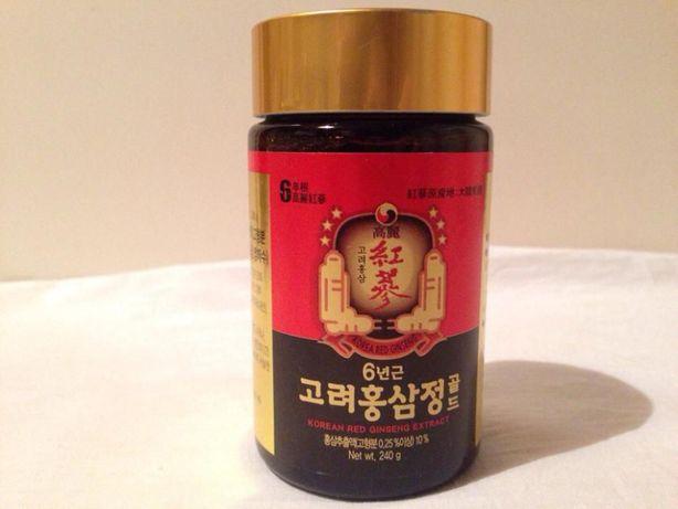 Экстракт красного корейского шестилетнего женьшеня