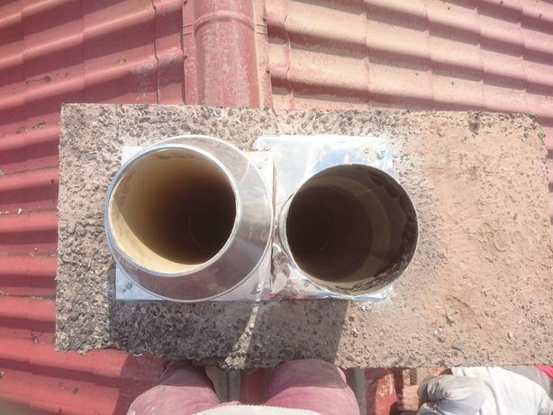 Montaż systemów kominowych Frezowanie Diamentowe Uszczelnienie