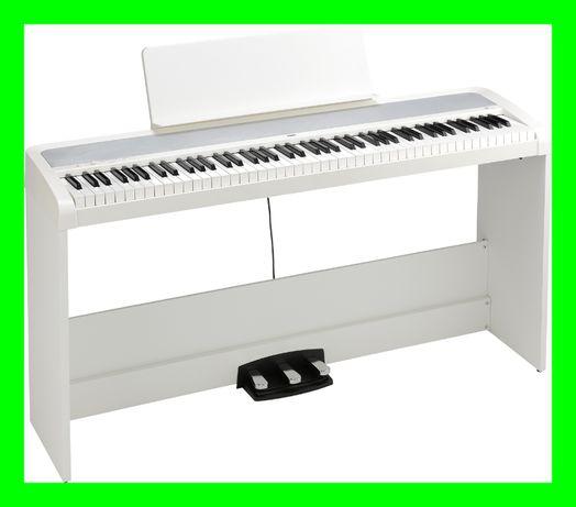 KORG B2 SP białe STATYW + PEDAŁY Pianino cyfrowe NOWOŚĆ wysyłka sklep