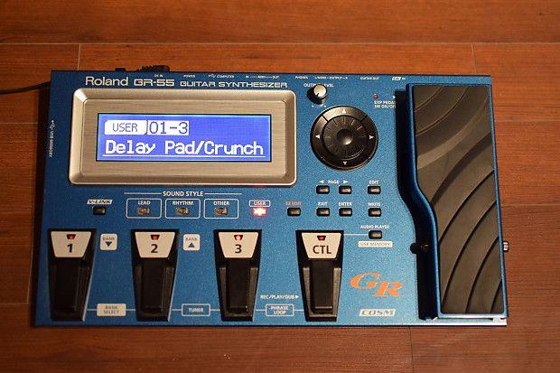 Roland GR 55 jak nowy stan idealny gitara multiefekt boss