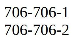 Продам платиновый/золотой номер интертелеком 706-706-1