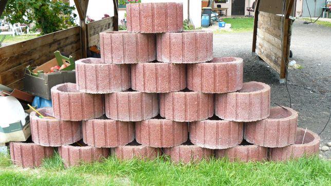 Duże donice betonowe ogrodowe 28szt