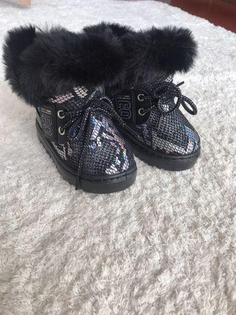 Новые Детские Зимние сапожки