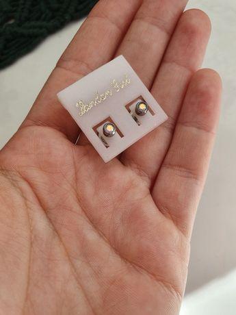 Сережки цвяшки для проколу вух (серёжки гвоздики)