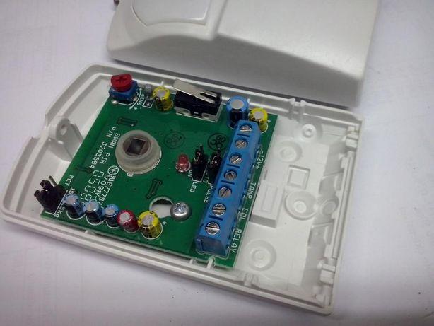 detetor de movimento por infravermelho