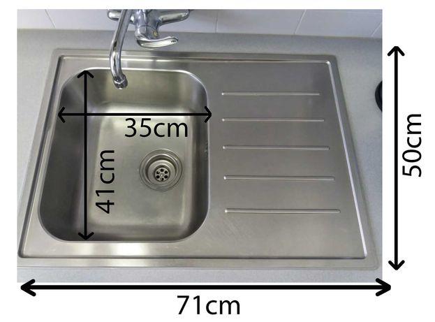 cuba lava loiça com escorredor