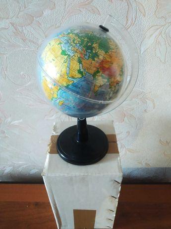 Глобус Землі фізичний 1:106 000 000