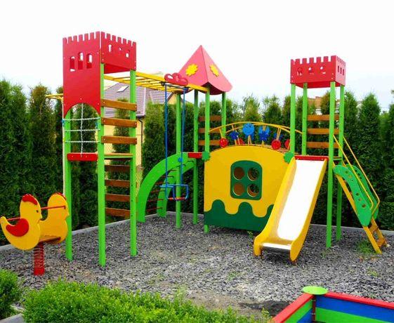 """Дитячий ігровий майданчик """"Казка"""" (ігровий комплекс, гірка, гойдалка,"""