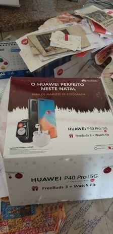 Telemóvel da  Huawei  pro 40 +band+ fbuds3