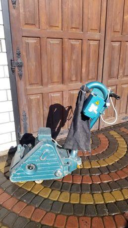 Машинка для шліфування підлоги Паркетошлифовальная машина
