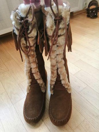 Прекрасные новые сапоги р 41 Minne tonka  цена 1000 грн