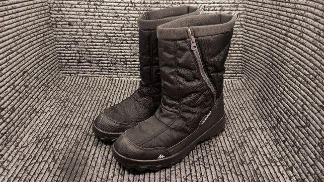 Термо Ботинки Quechua Arpenaz 500 мужские зимние на молнии 43-44р, 28с