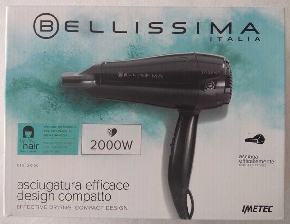 Secador de cabelo marca Belíssima, modelo C-19 2000