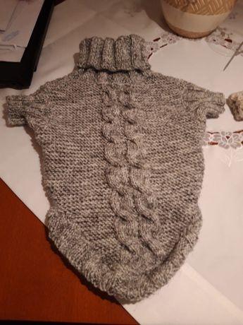 Sweterek dla psa (melanż)