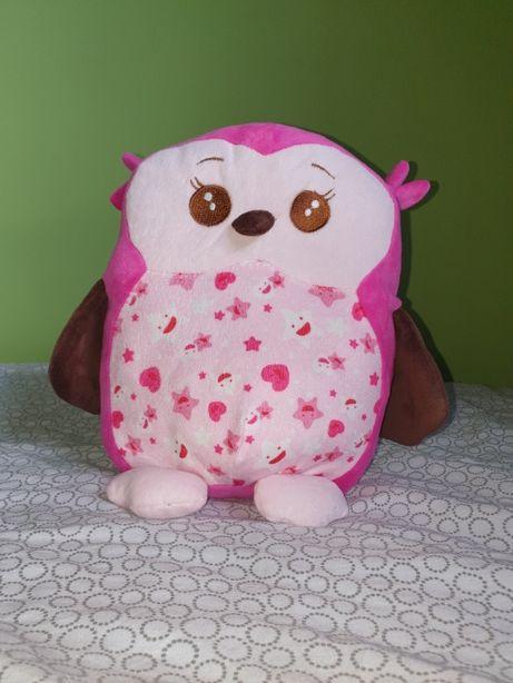 Maskotka poduszka przytulanka pluszak sowa sówka