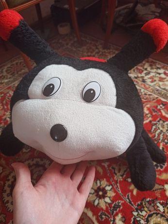 Большая мягкая игрушка божая коровка