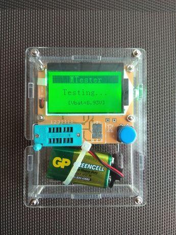 Транзистор тестер ESR LCR транзисторов, конденсаторов , дроселей