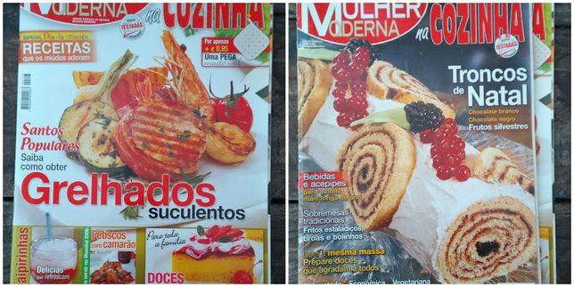 11 Revistas de cozinha / receitas