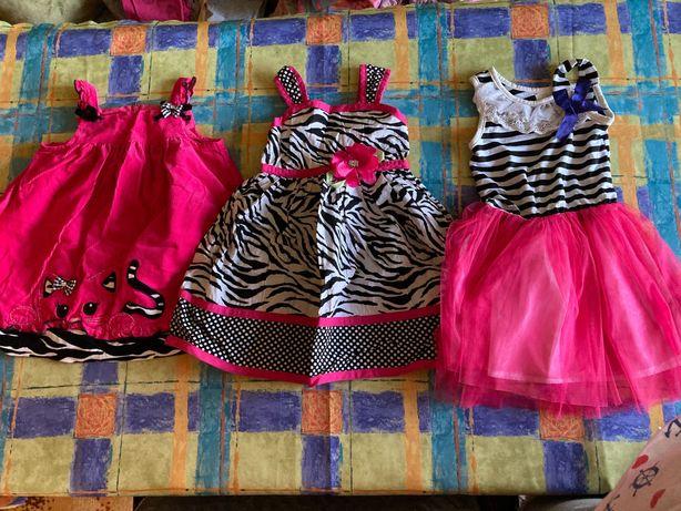 Sukienki letnie dla dziewczynki