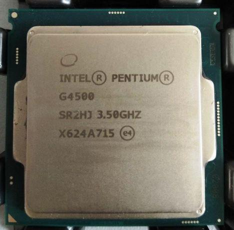 Процессор s1151 2 ядра Intel Pentium G4500 - 3700 руб.