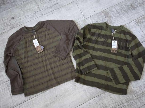 Dwie nowe bluzy chłopięce 140