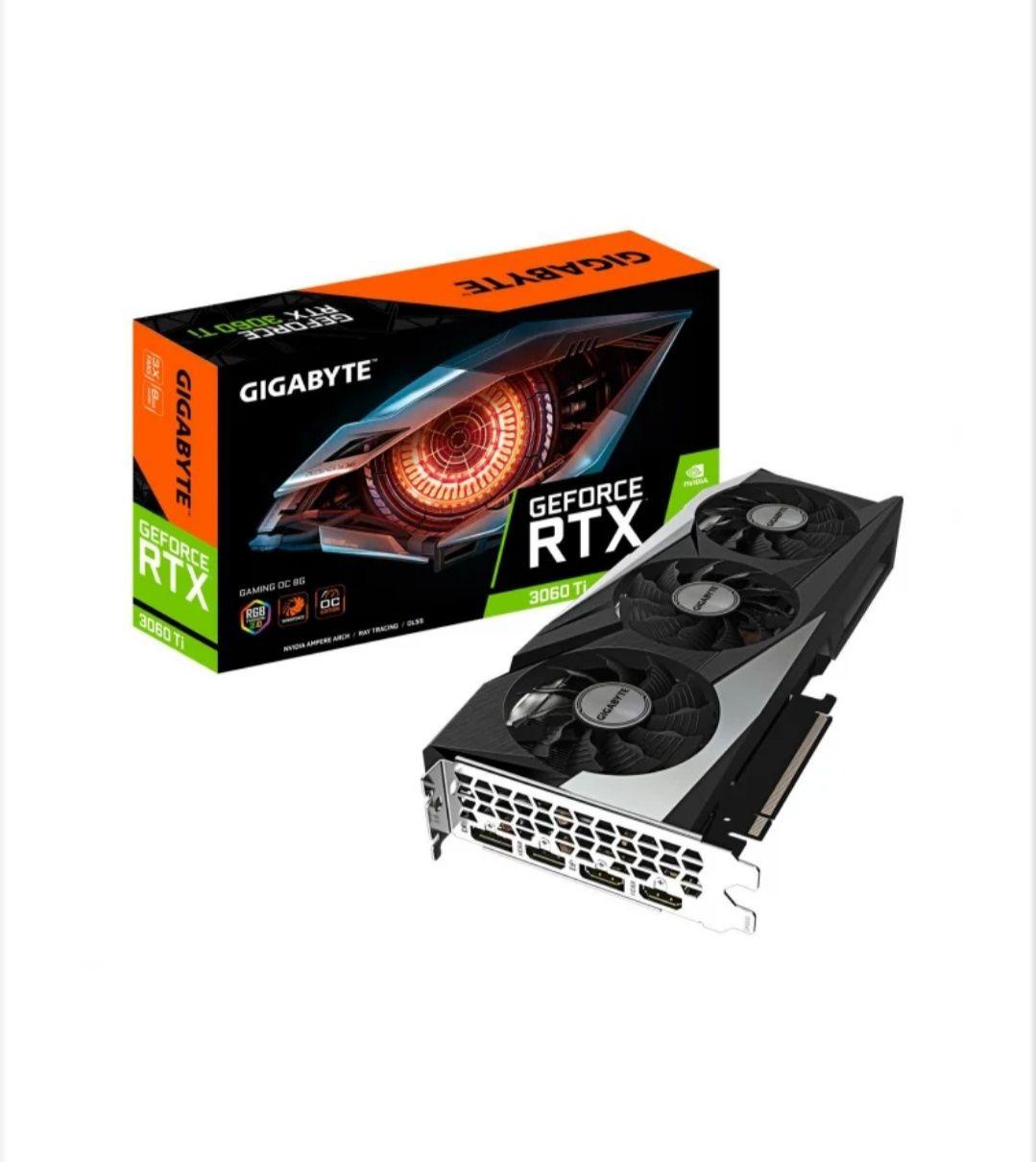 Karta Gigabyte GeForce RTX 3060 Ti Gaming OC 8GB GDDR6 Gwarancja!