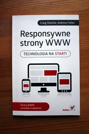 """Książka """"Responsywne strony WWW, Technologia na start!"""", Helion"""