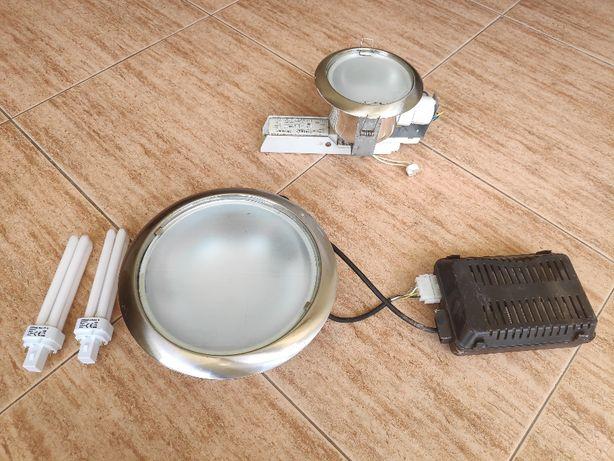 Projetor focos de cozinha e w.c.