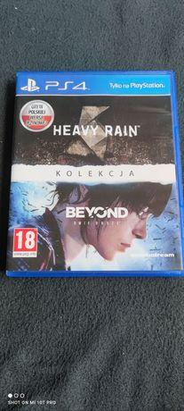 Heavy Rain Beyond Dwie Dusze  Kolekcja 2 Gry PL PlayStation 4 PS4