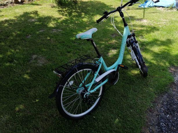 Piękny Rower dla dziewczynki prawie nowy