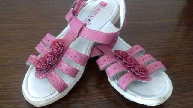 Sandałki Lasockiego skórzane 30
