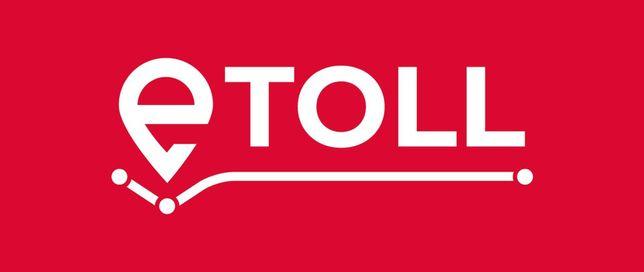 E-toll Etoll Urządzenia GPS Systemu Poboru Opłat Drogowych