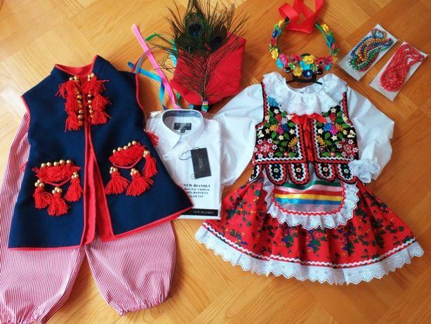 Regionalny strój krakowski 3-7 lat