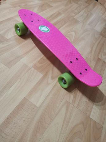 Skate pink menina