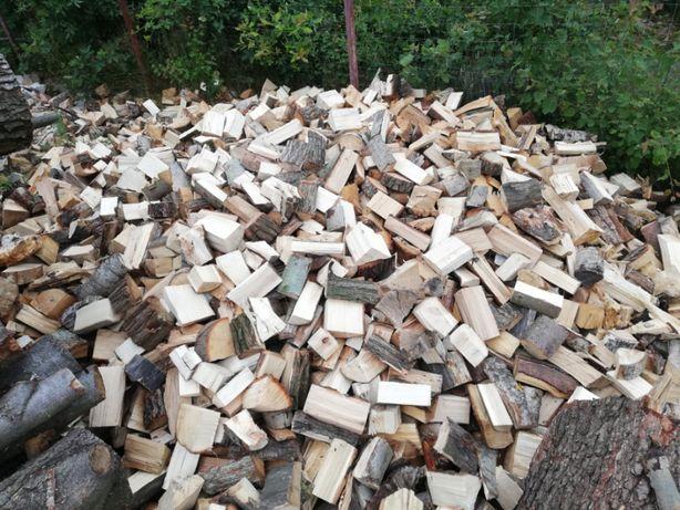 Drewno kominkowe i opałowe ścinki po produkcji