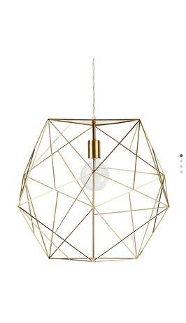 Designerska Lampa firmy Mio złota