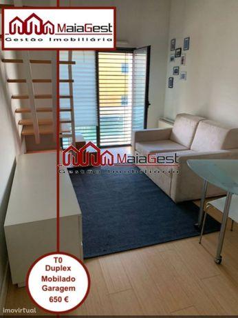 T0 | Duplex | Mobilado | Garagem | MaiaGest