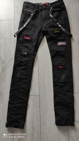 Spodnie młodzieżowe męskie rozmiar 30