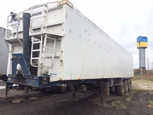 Зерновоз STAS 63,2 куба полуприцеп - самосвал (алюминиевый кузов и ра