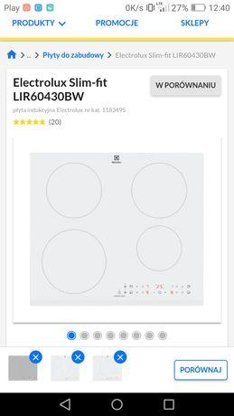Płyta indukcyjna biała nowa Elektrolux