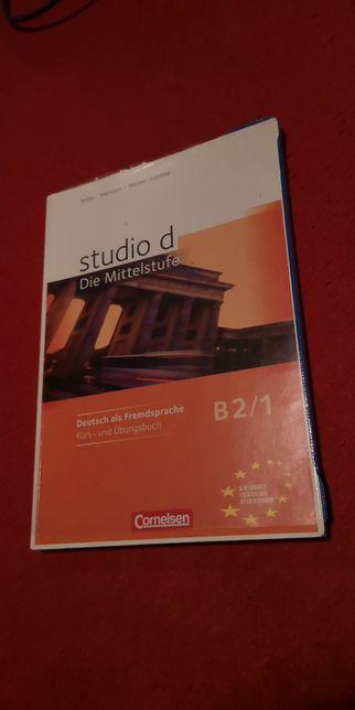 Deutsch als Fremdsprache studio d B2/1 Kurs und Ubungsbuch Cornelsen