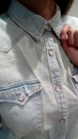 Рубашка Mango, блуза Goldi