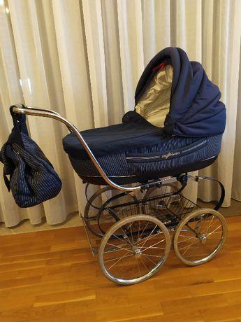 Inglesina Classic GIGA ZESTAW 2w1 + fotel do karmienia, dodatki OKAZJA