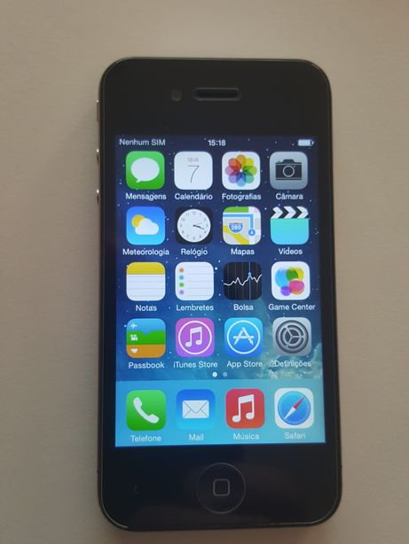 Iphone 4 16gb como novo