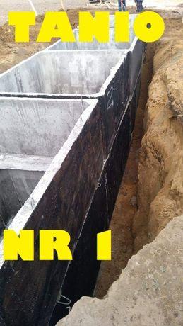 Szambo Betonowe na gnojowice odchody ścieki-10m3 Betonowy Zbiornik