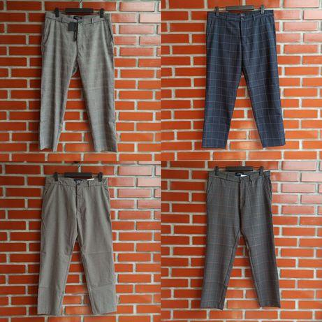 Zara Lefties укороченные брюки кюлоты размер 32, 34